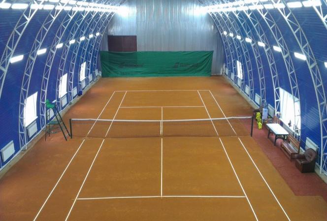 Параметры и размеры теннисного корта